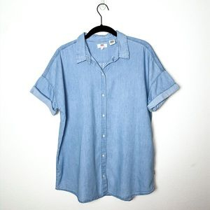 Levi's Denim Button-Up